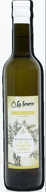 Vin aux fleurs de sureau - La Source Distillerie